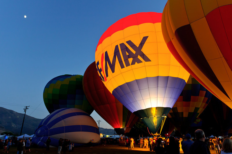 7/27/12  Citrus Classic Balloon Festival in Santa Paula, CA ...  What's a balloon Fest without a RE/MAX balloon.