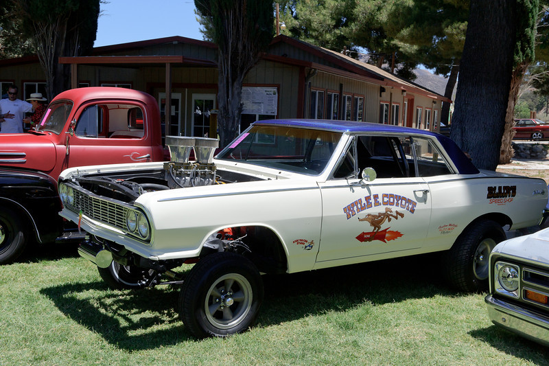 Mouldy Marvin's Rat Fink Car Show at the KOA in Acton, CA  6/30/12 ..