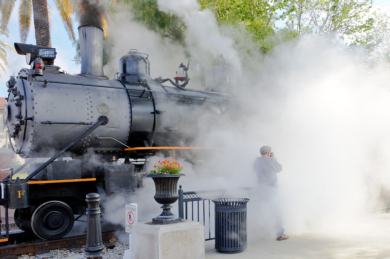 Railfest Fillmore, CA 3/24/12  Hey Milt what you takin' a picture of???