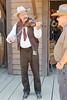 Cowboy Festival at Melody Ranch, Santa Clarita 4/22/12  Main Street.  Street entertainer.