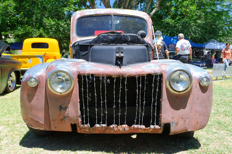 Mouldy Marvin's Rat Fink Car Show at the KOA in Acton, CA  6/30/12