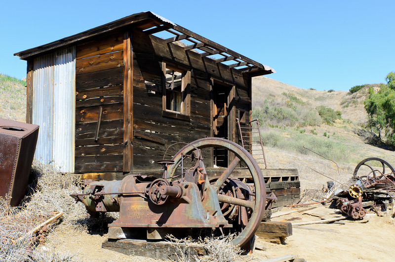 Mentryville, CA and out building maybe for machinery repair.
