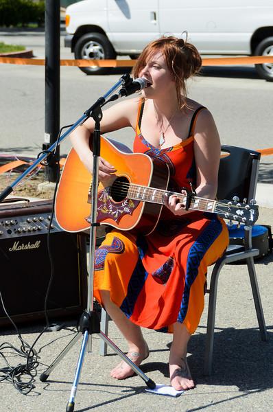 Madeline Spooner.  April 7, 2012.  Santa Clarita, CA @ Mustang Monthly