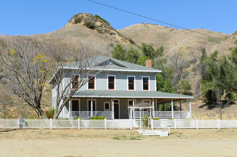 Mentryville, CA  Main house.