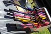 SC street Fair 2/25/12.  Marshmallow launchers.....