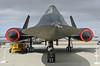 SR71 @ BLACKBIRD AIR PARK, EDWARDS AFB FLIGHT TEST MUSEUM.  Impressive isn't the word......