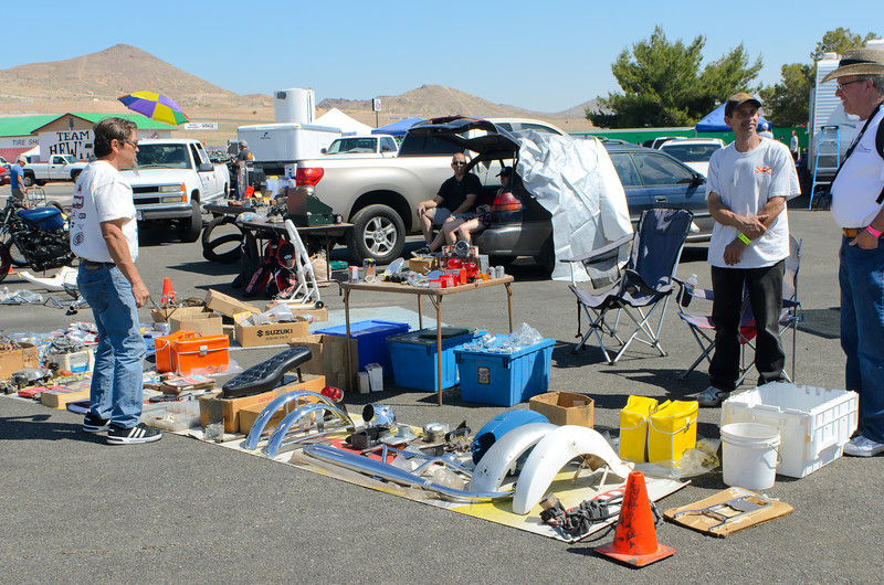 WSIR 4/28/12.  Some of everything happening...   Need some slightly used bike parts?