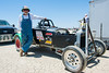 El Mirage dry lake bed.  SCTA Time Trials land speed event  5/18/13.  BOB & JUDY SIGHTS set a speed record for their class at 138 mph plus.  CONGRATULATIONS  Bob is 77 years old.