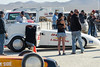 El Mirage dry lake bed.  SCTA Time Trials land speed event  5/18/13.  Last minute prep at the starting line.