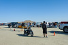 El Mirage dry lake bed.  SCTA Time Trials land speed event  5/18/13  Waiting in line to make a run.
