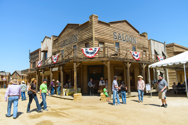 Melody Ranch.  Main Street saloon.  You've probably seen this in a bunch of movies.