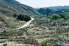 The old road in San Francisquito Canyon.  Santa Clarita, CA