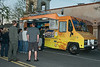 """CARNIVALE  """"Senses"""" on Main St., Newhall, CA  3/21/13  Vaud & The Villains.  The popular """"Mac & Cheese"""" truck..."""
