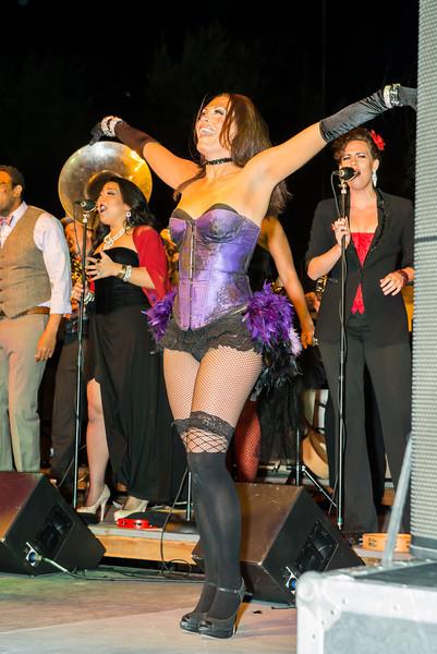 "CARNIVALE  ""Senses"" on Main St., Newhall, CA  3/21/13  Vaud & The Villains."