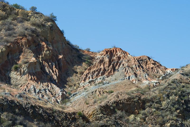 Dirt….  San Francisquito Canyon.  Santa Clarita, CA