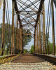 7/2/13  Railroad bridge in Fillmore.  Built in 1902 and still used by the Fillmore Western Railway.