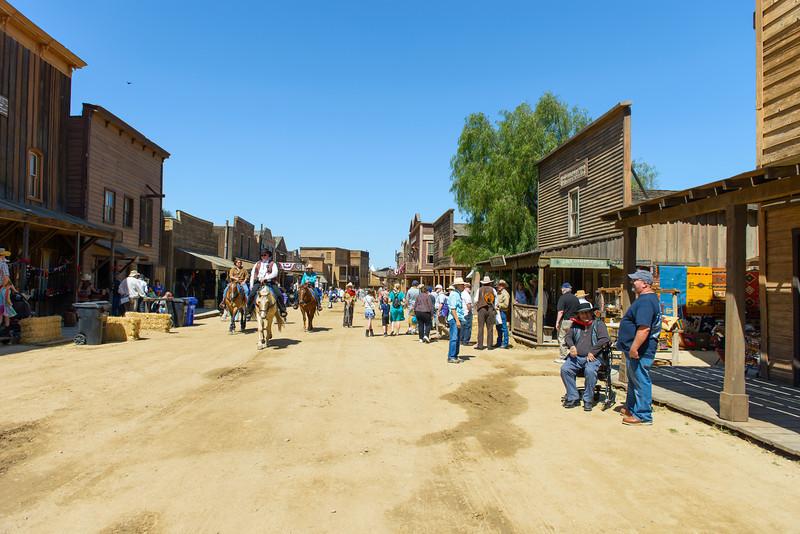 Melody Ranch.  Main Street
