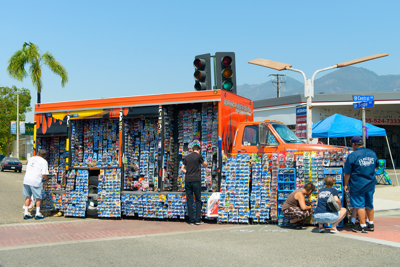 """2013 4th of July Fillmore Chili Cook Off & Car Show.  Anyone want a """"HotWheels""""?"""