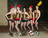 """CARNIVALE  """"Senses"""" on Main St., Newhall, CA  3/21/13  Vaud & The Villains.  The Angels A team of roller derby girls from Los Angeles."""