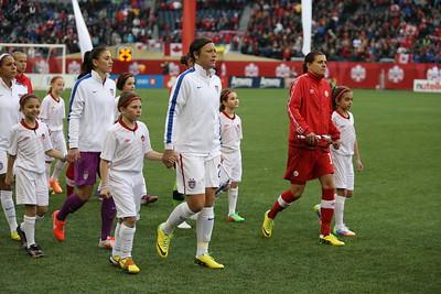 Soccer: Women's Friendly-USA vs Canada