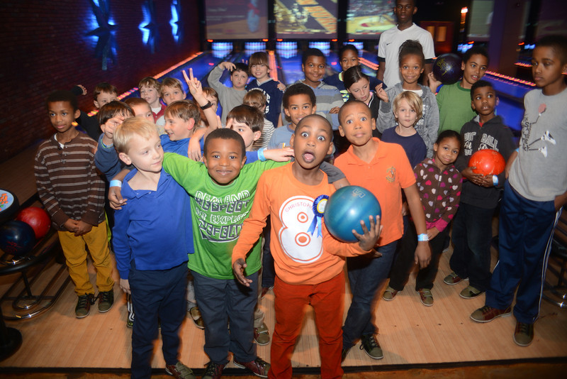 Bowling Birthday for Mister Christopher Wells