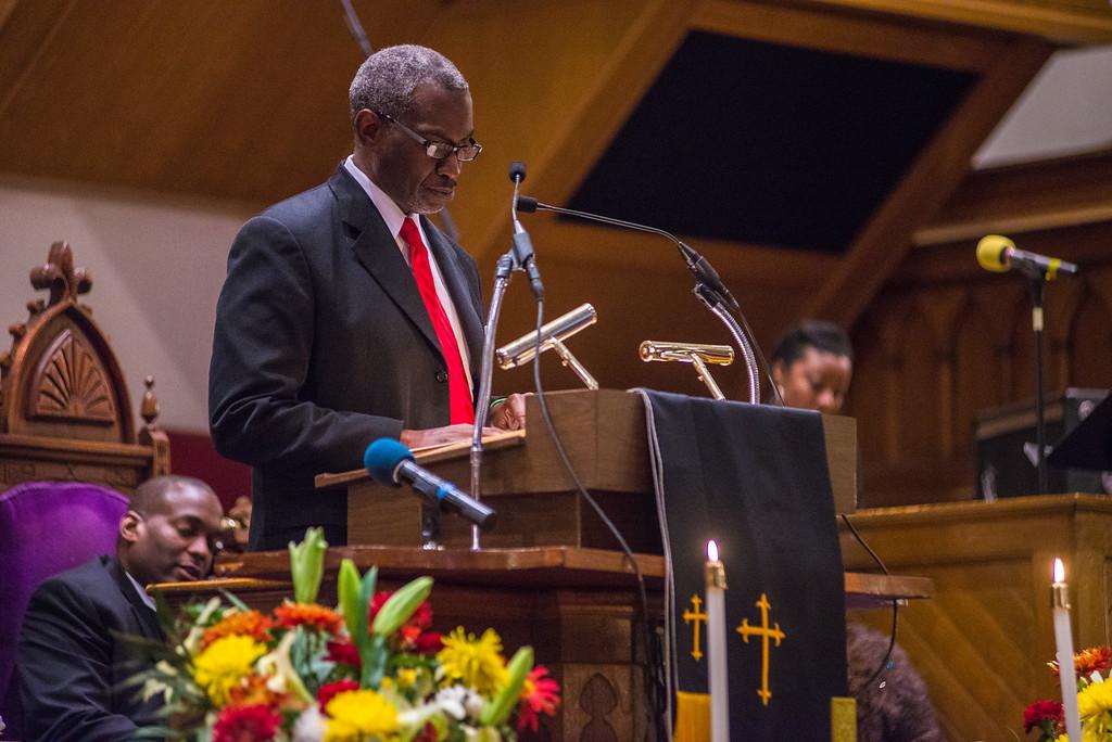Ambassador Joseph M. Segars, Metropolitan A.M.E Church, November 17, 2014