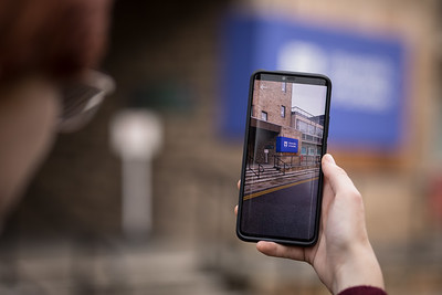 Frankenparts - An augmented reality walking tour