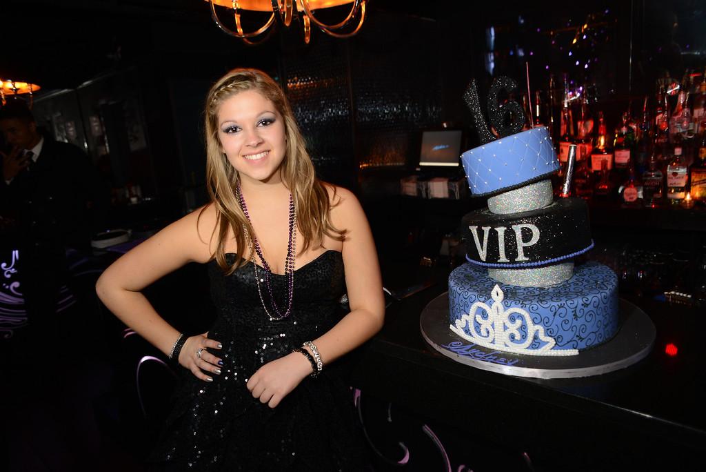 Sweet 16 Birthday at Josephine
