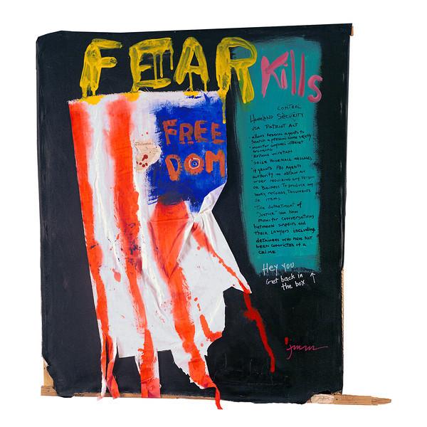 FEAR KILLS FREEDOM - sold