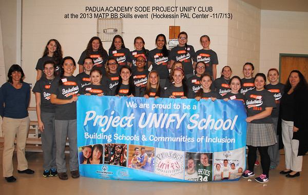 2013 MATP - BB Skills with Leach & Meadowood Schools (Padua volunteers)