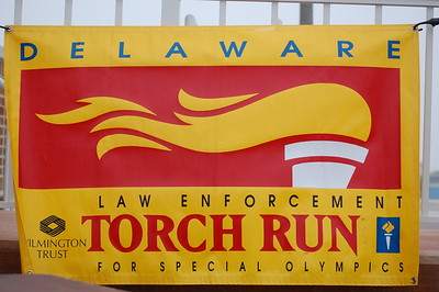 Torch Run 2009 Rehoboth Beach ceremony