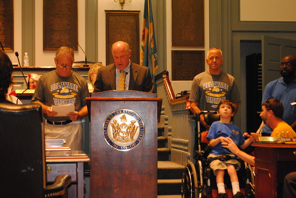 2013 TORCH RUN - Rehoboth and Dover Ceremonies