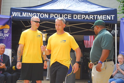 2018 Torch Run - Wilmington ceremony