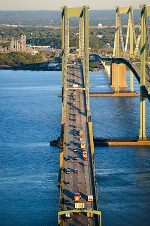 2017 Del Mem Bridge Run - aerial, start line, video clips