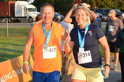 2018 Del Memorial Bridge 5K Run - AWARDS   (Photos: Sheri Okladek Bailey)