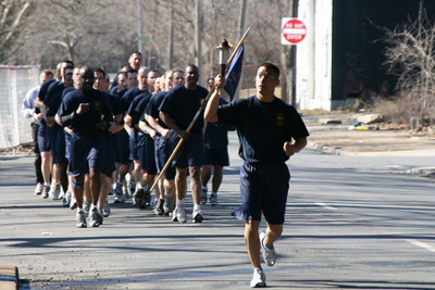 2007 Wilmington Police Department Recruiting Class 5-Mile Run