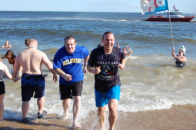 2009 Delaware's Governor Joins in on the PLUNGE