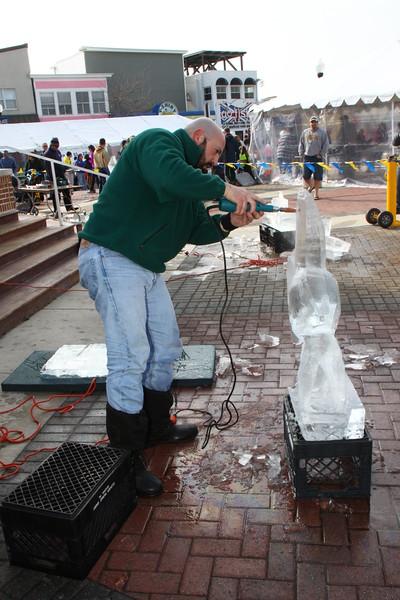 2012 Ice Sculpting
