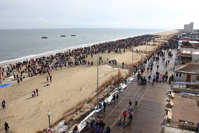 2013 Polar Bear Plunge souvenir photo (courtesy of Dennis Forney/Cape Gazette)