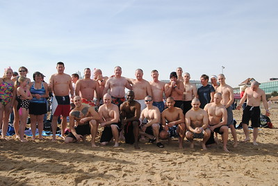 Law Enforcement at the 2014 Polar Bear Plunge
