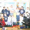 Jonathan visits a School in West Seneca NY : We were in West Seneca for a wedding and Jon was invited to come to a classroom to show off.  The kids had never meet anyone in Sports Illustrated for KIDS..  It was a lot of fun.