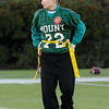 Mt. Pleasant's #72 Stormi Morris in their game against Middletown at the DIAA/Special Olympics Delaware Unified flag football game at the University of Delaware.