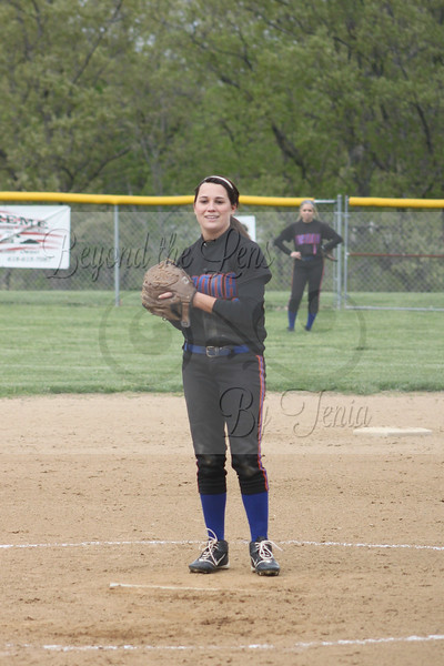 Goreville Lady Blackcats Softball vs Vienna 2014