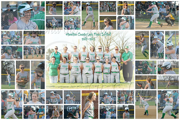 Hamilton County Foxes, Hamilton County Lady Foxes, Hamilton County Lady Foxes Softball, Hamilton County High School Lady Foxes Softball, Foxes Softball