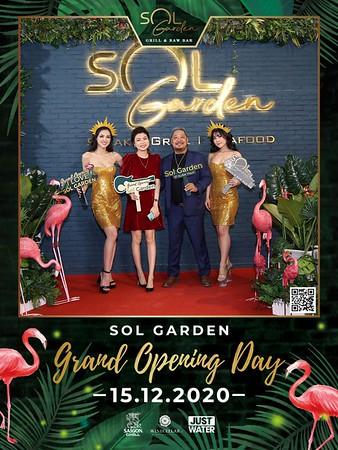 SOL GARDEN | Grand Opening instant print photo booth | Chụp ảnh in hình lấy liền Sự kiện Khai trương SOL Garden Quận 2 | WefieBox Photobooth Vietnam