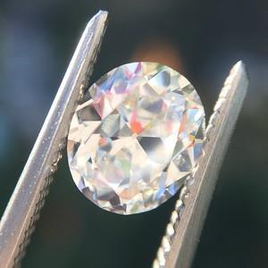1.01ct Antique Oval Cut Diamond GIA I VVS2