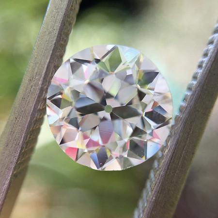 1.22ct Old European Cut Diamond, GIA J VS2