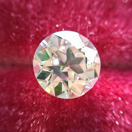 1.34ct Old European Cut Diamond, GIA J VVS2