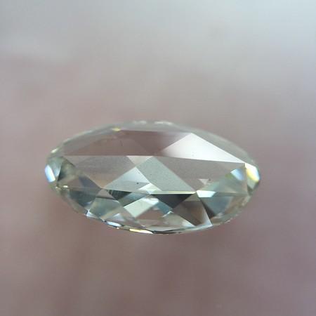 1.54ct rose cut diamond GIA G SI1