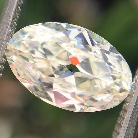 1.62ct Antique Moval Cut Diamond